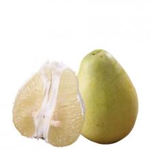 西双版纳柚子白心柚子新鲜蜜柚子皮红心肉柚子水果特产2个装4斤