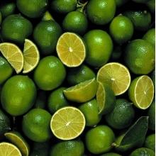 缅甸柠檬 青柠檬鲜柠檬 新鲜水果清香青柠 肉绿皮薄柠檬餐厅特供