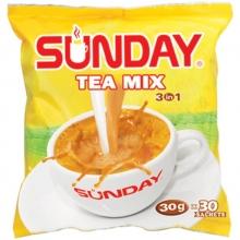 缅甸原装进口SUNDAY THE MIX 3 IN 1星期天奶茶