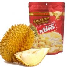 泰国进口特产零食品 fruit king果宝金枕头榴莲干 100g  3袋包邮